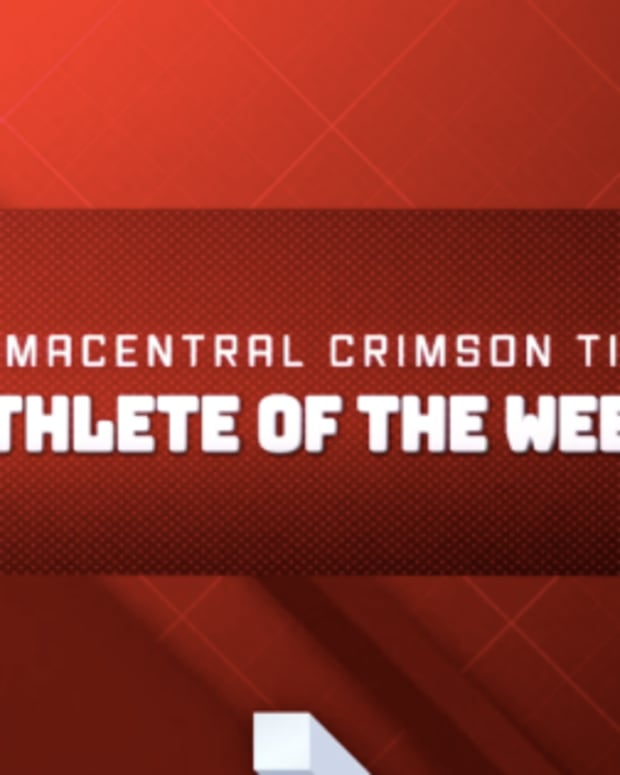 Crimson Tide Athlete of the Week Logo