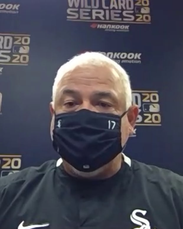 Ricky Renteria pregame WC G3 2020-10-01