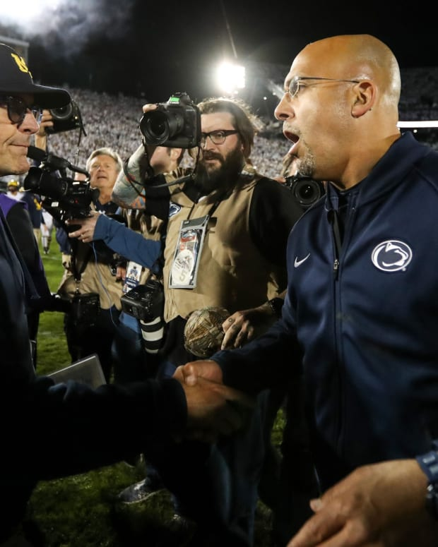 Jim Harbaugh and James Franklin