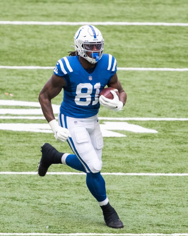 Indianapolis Colts tight end Mo Alie-Cox has been among the NFL's best at his position, according to Pro Football Focus grades.