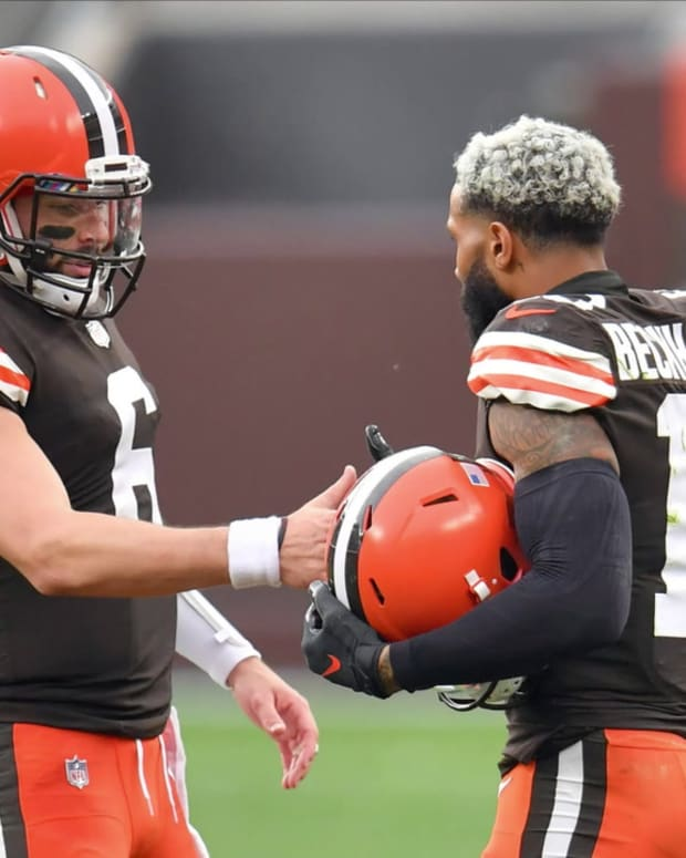 If Cleveland Browns Baker Mayfield is Better Without Odell Beckham, He's Not the Only One