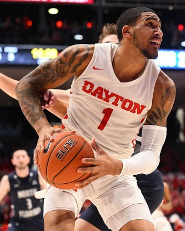 Former University of Dayton forward Obi Toppin is a projected top-10 draft pick.