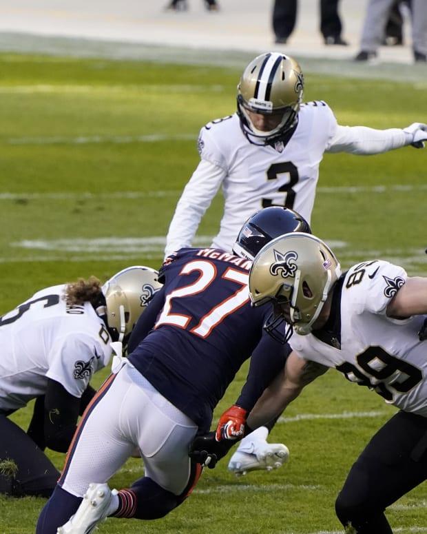 New Orleans Saints Kicker Lutz Missed FG