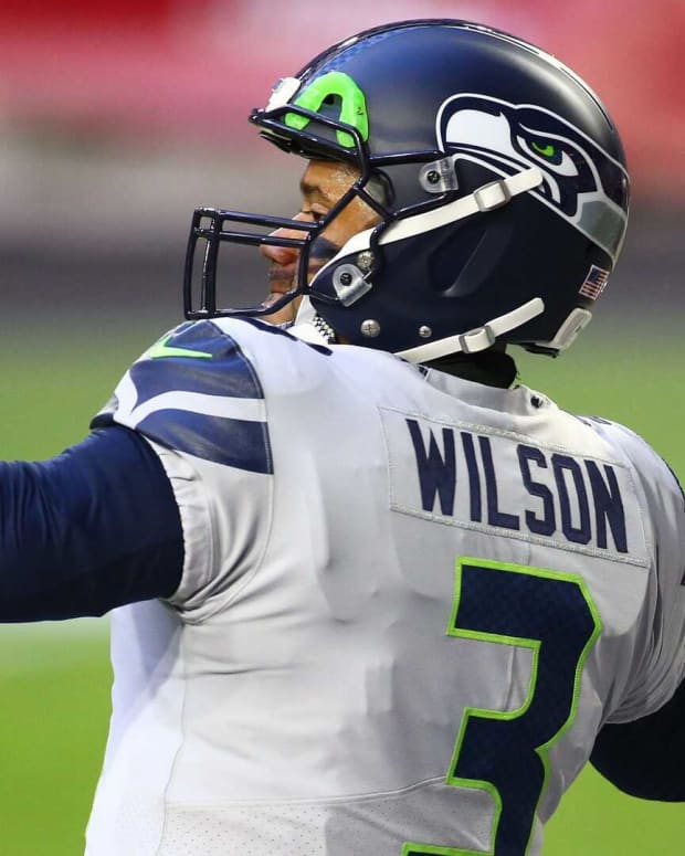 Seahawks Russell Wilson Fantasy Football