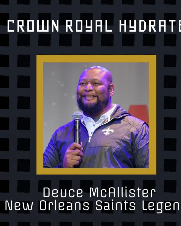 Deuce McAllister Interview