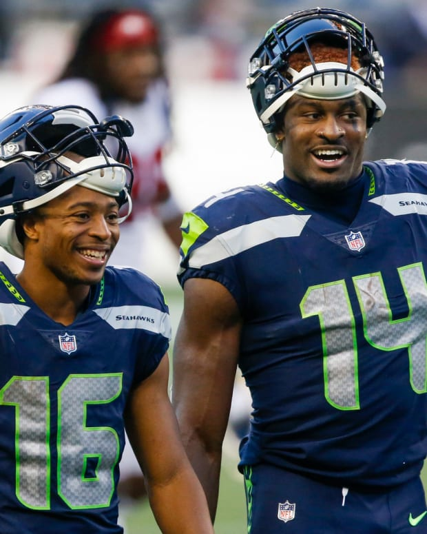 Seahawks Tyler Lockett DK Metcalf Fantasy Football