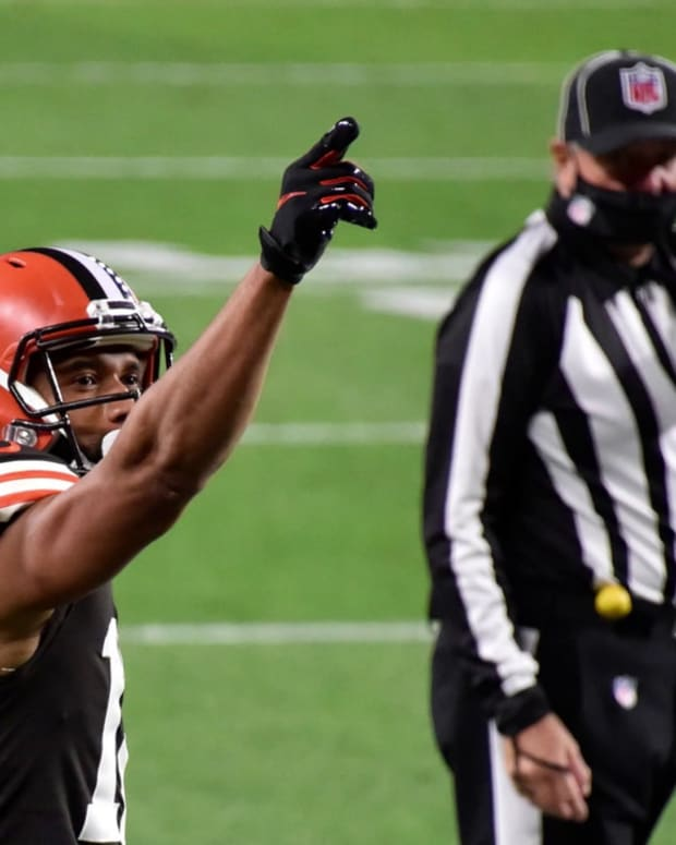 Cleveland Browns Should Extend KhaDarel Hodge