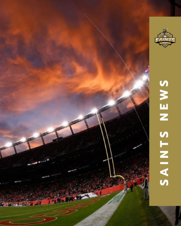 Saints at Broncos