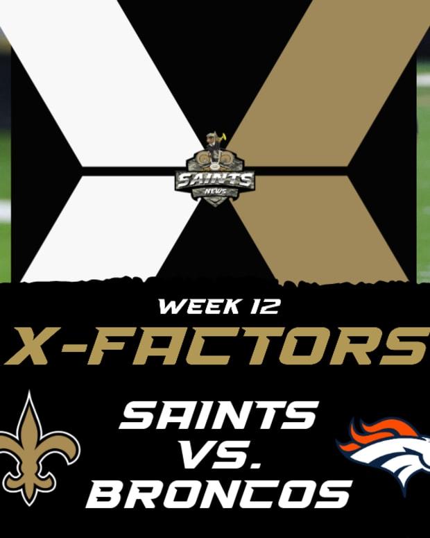 Week 12 X-Factors