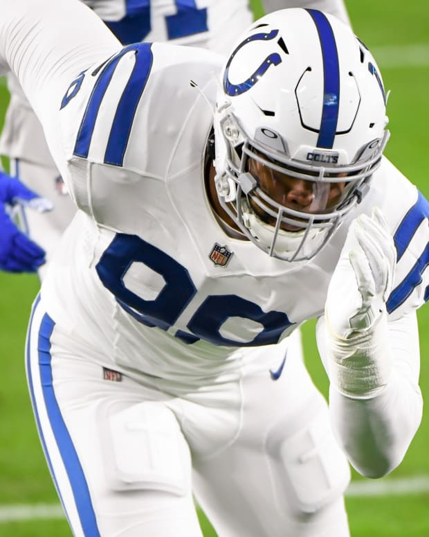 Indianapolis Colts defensive tackle DeForest Buckner has been ruled out of Sunday's home game vs. the Tennessee Titans after being placed on the reserve/COVID-19 list.