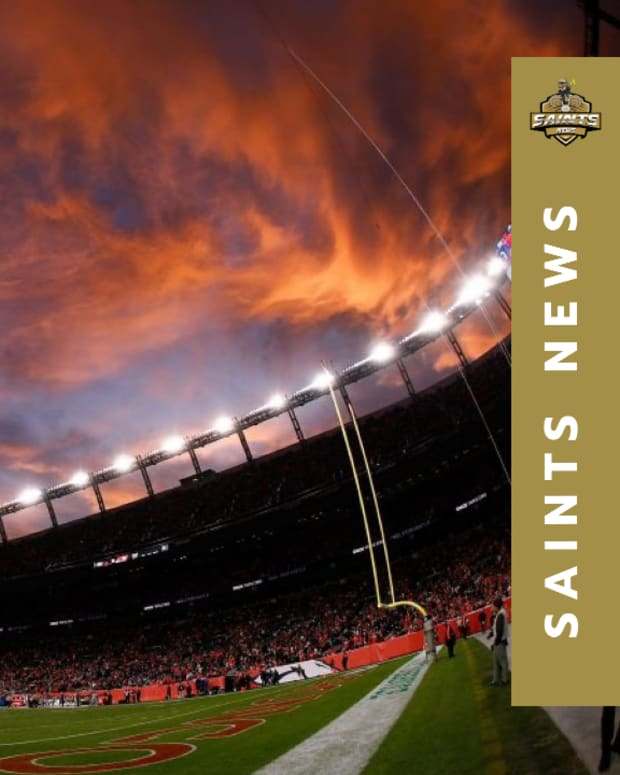 Saints at Broncos (1)