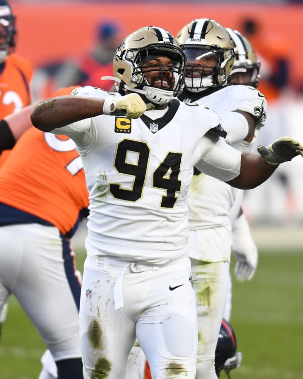 Saints defensive end Cam Jordan