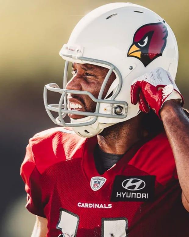Arizona Cardinals wide receiver Larry Fitzgerald