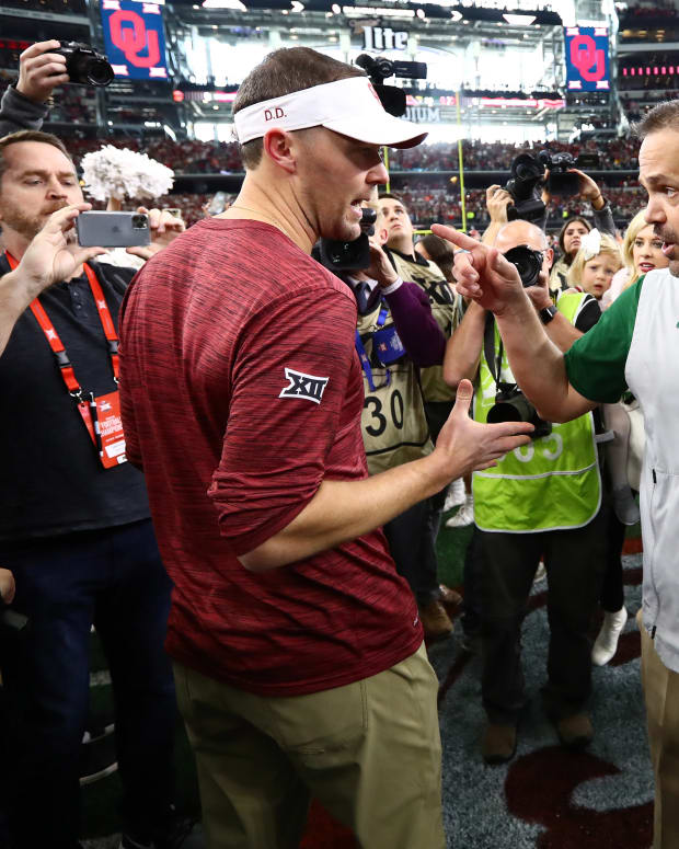 Lincoln Riley-Matt Rhule