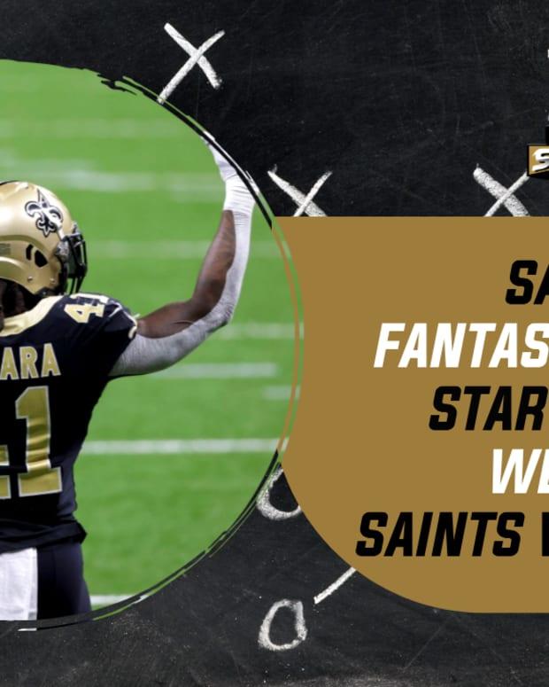 Saints Fantasy Football Week 13
