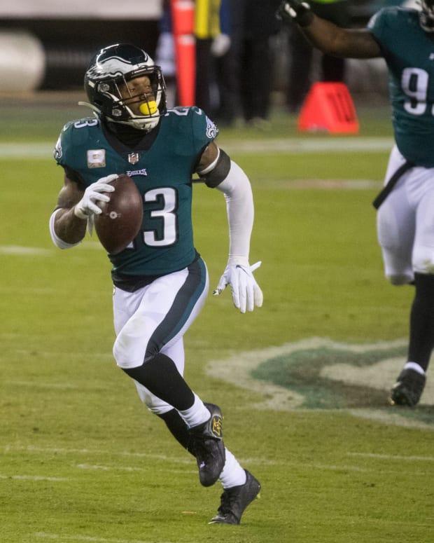 Rodney McLeod will miss final three games after tearing his ACL against the Saints
