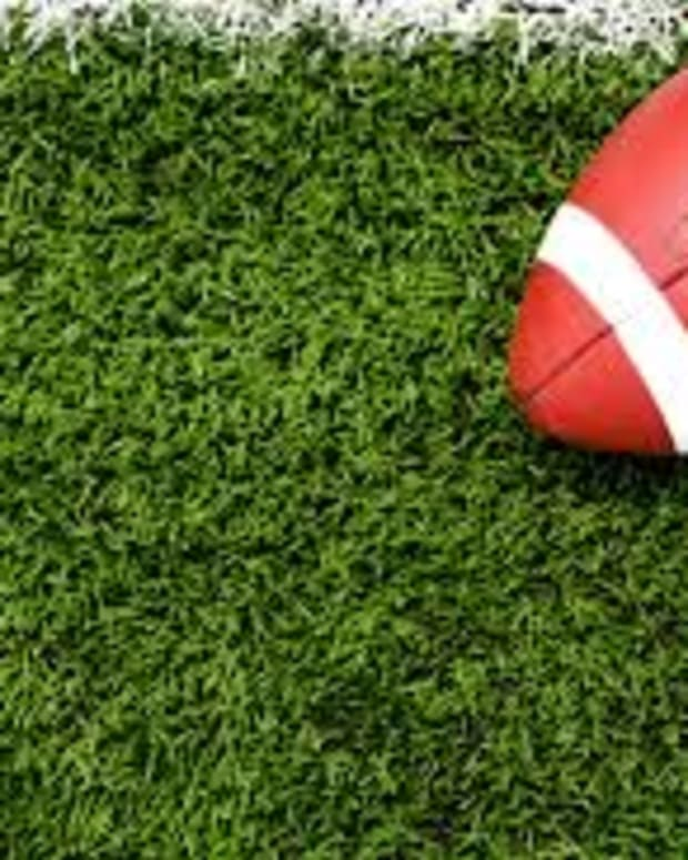 Generic football graphic
