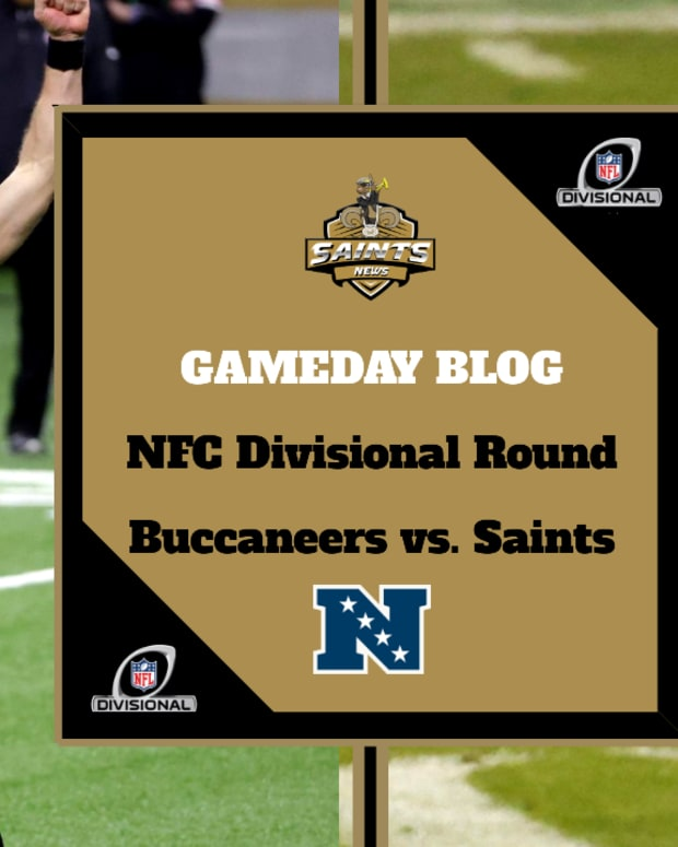 GAMEDAY BLOG - Saints News Network - NFC Divisional Round