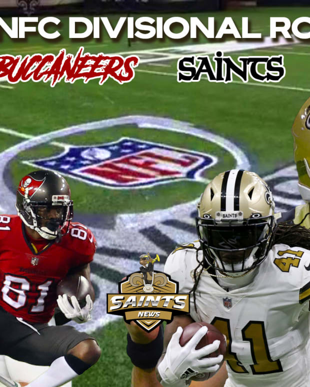 2021 NFC Divisional Round - Buccaneers vs. Saints