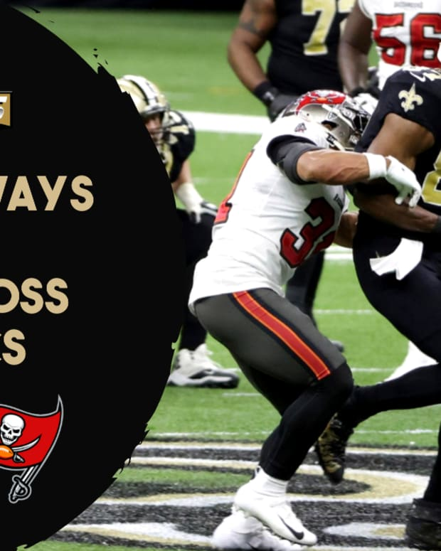 3 Takeaways vs. Bucs
