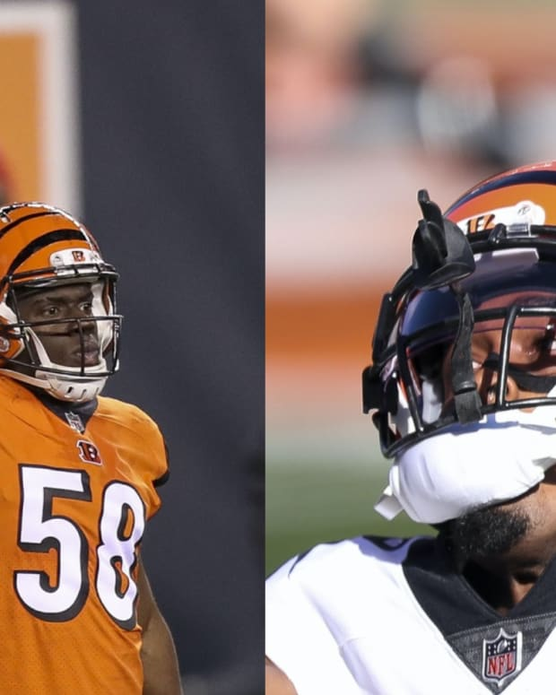 Carl Lawson, William Jackson