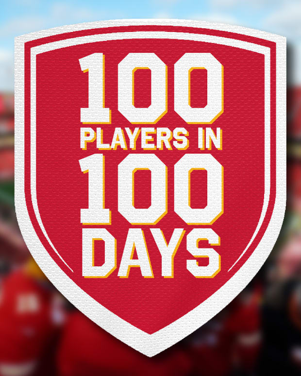 Series graphic for Jordan Foote's 100 Players In 100 Days series