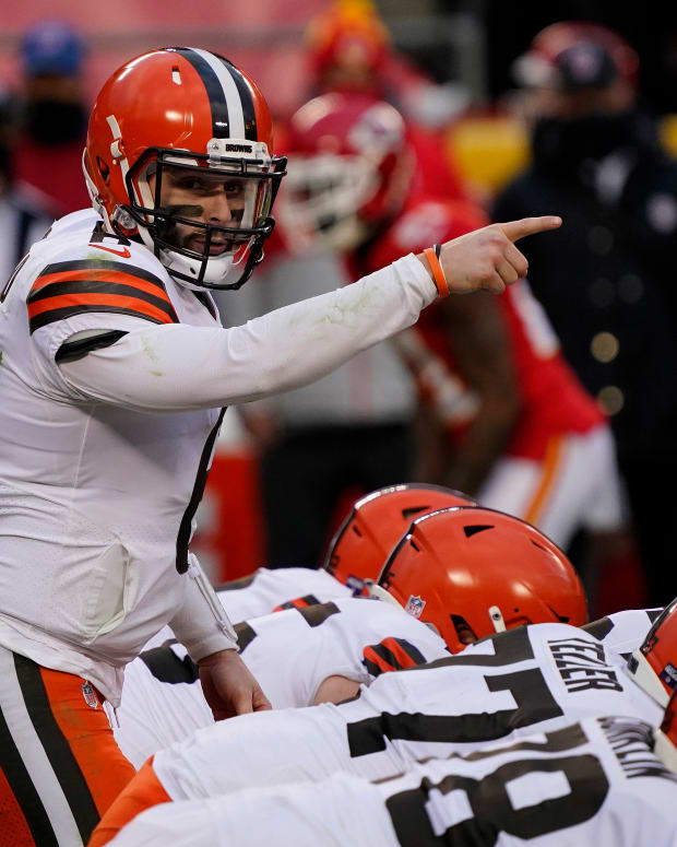 Baker Mayfield - Cleveland point