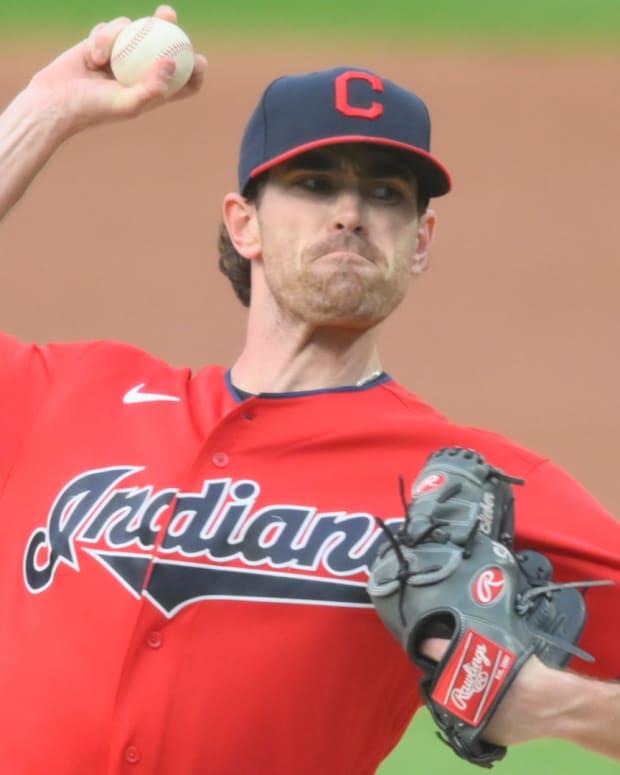 Cleveland Indians Shane Bieber