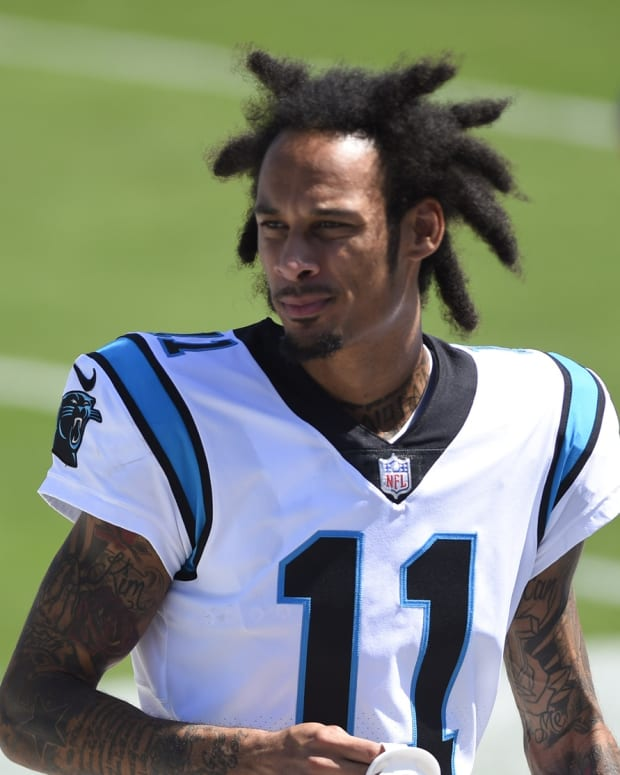 Panthers WR Robby Anderson