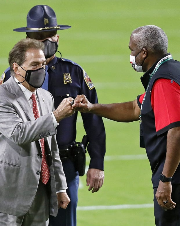 Gene Smith Nick Saban