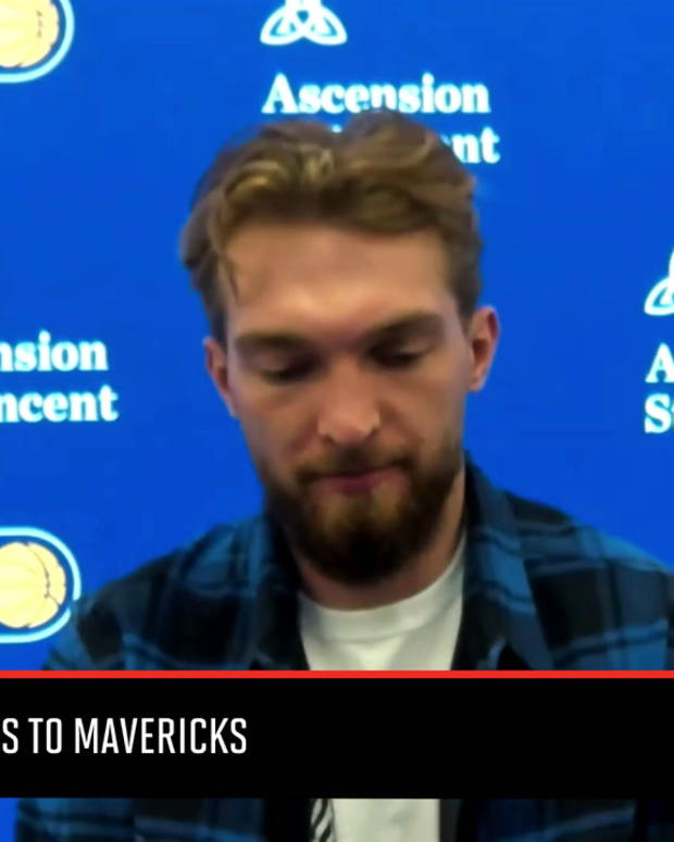 Domantas Sabonis Talks Pacers' Loss to Mavericks