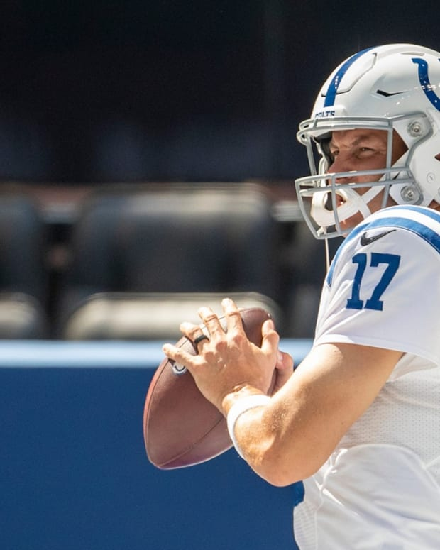 Indianapolis Colts quarterback Philip Rivers announced his retirement after 17 seasons on Wednesday.