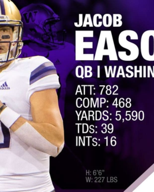 Jacob Eason was the 122nd player drafted.