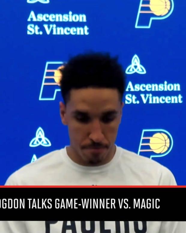 Pacers' Malcolm Brogdon Talks Game Winner