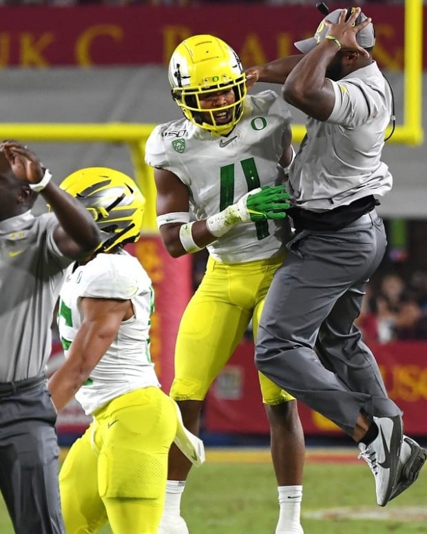 Keith Heyward, once he comes down, will move from Oregon to Cal.