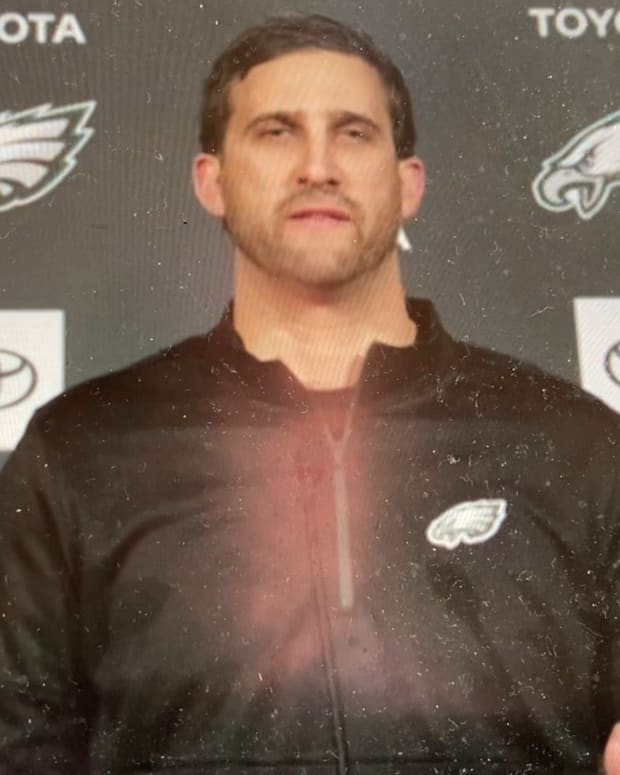 Eagles coach Nick Sirianni