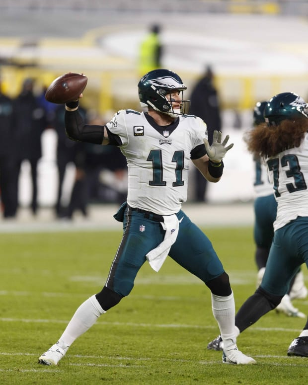 Will the Philadelphia Eagles decide to move on from quarterback Carson Wentz with an offseason trade?