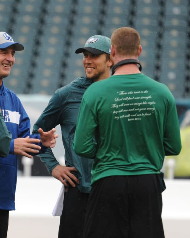 Will Frank Reich and Carson Wentz reunite in Indy