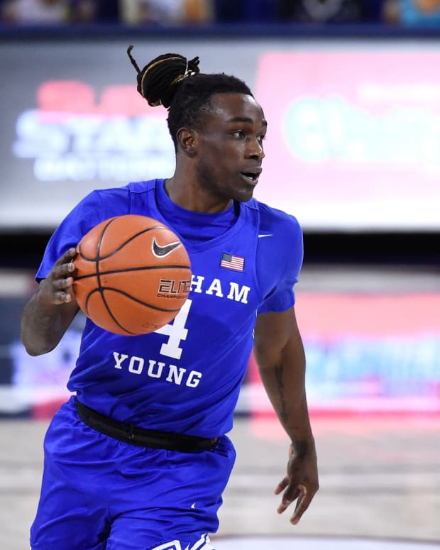Brandon Averette BYU Basketball