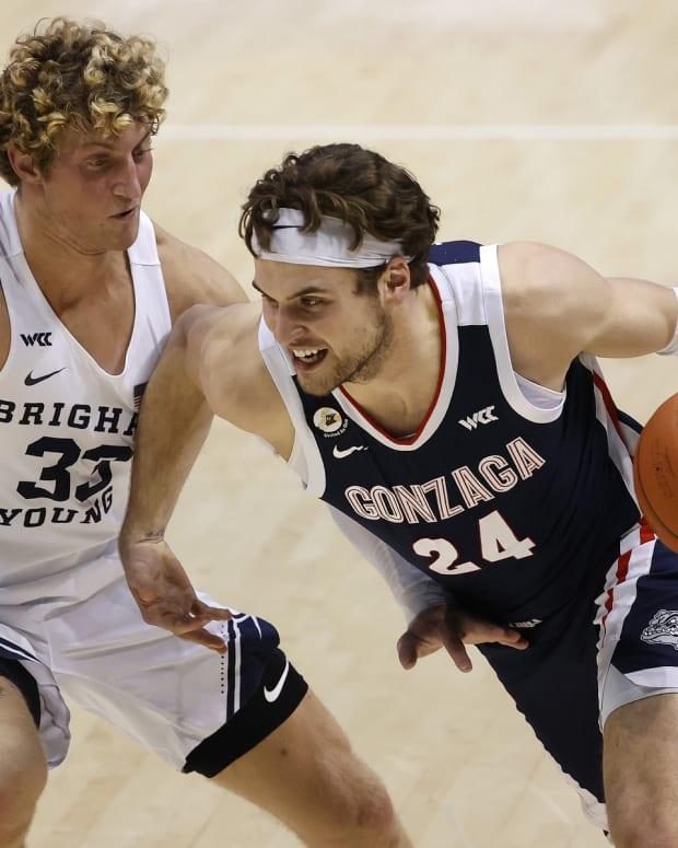 Caleb Lohner BYU Basketball