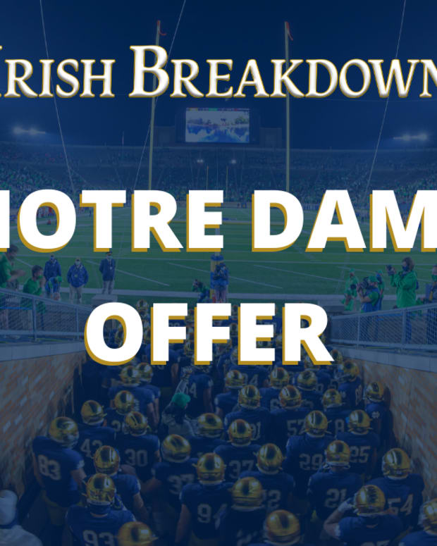 Notre Dame Recruiting Offer