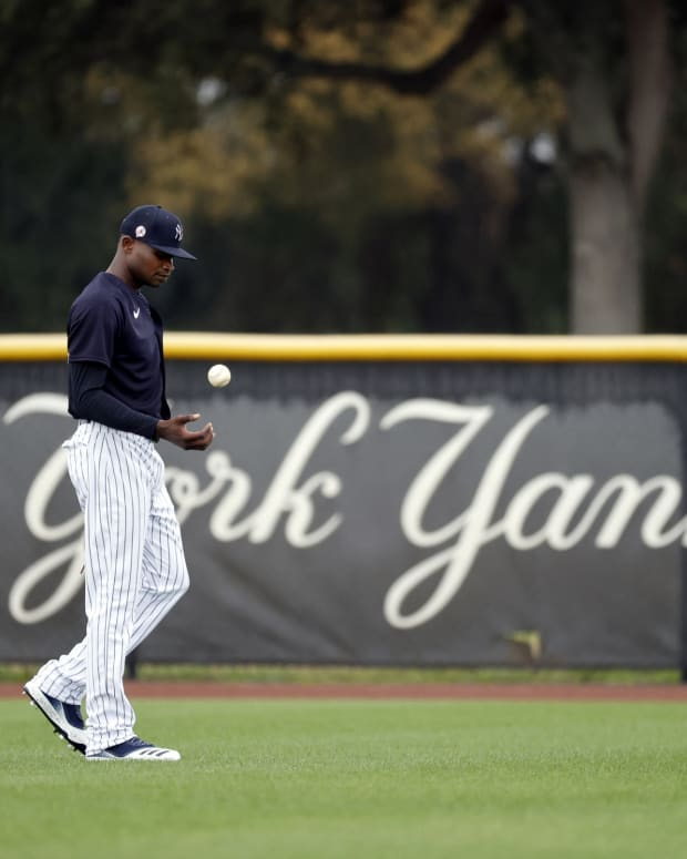 Yankees SP Domingo German Spring Training
