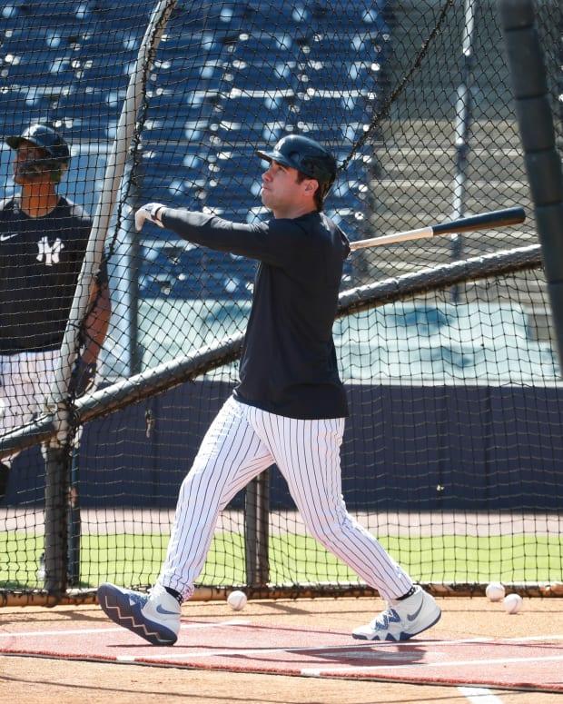 Yankees OF Mike Tauchman