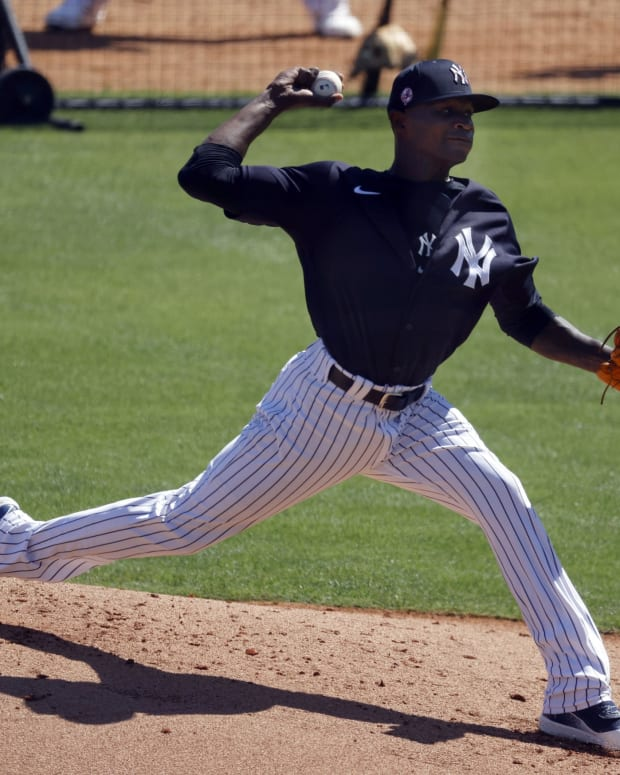 Yankees SP Domingo German