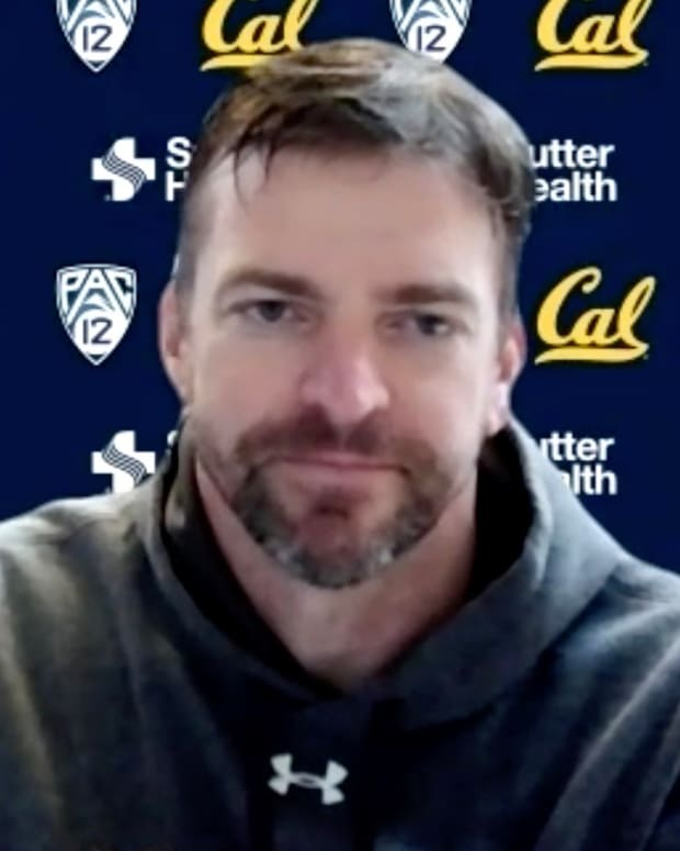 Cal football coach Justin Wilcox