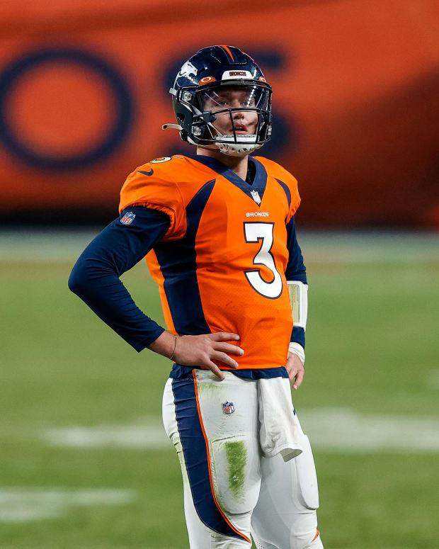 Broncos QB Drew Lock
