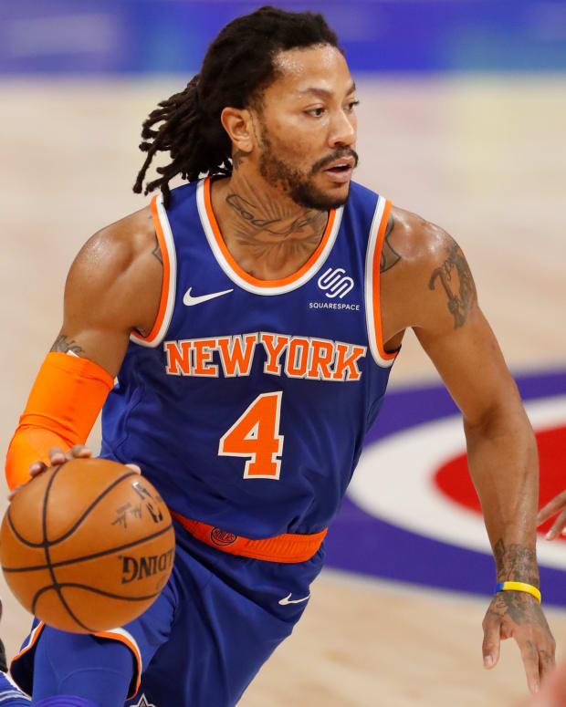 Knicks Derrick Rose