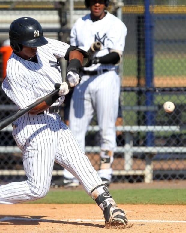Yankees prospect Oswald Peraza