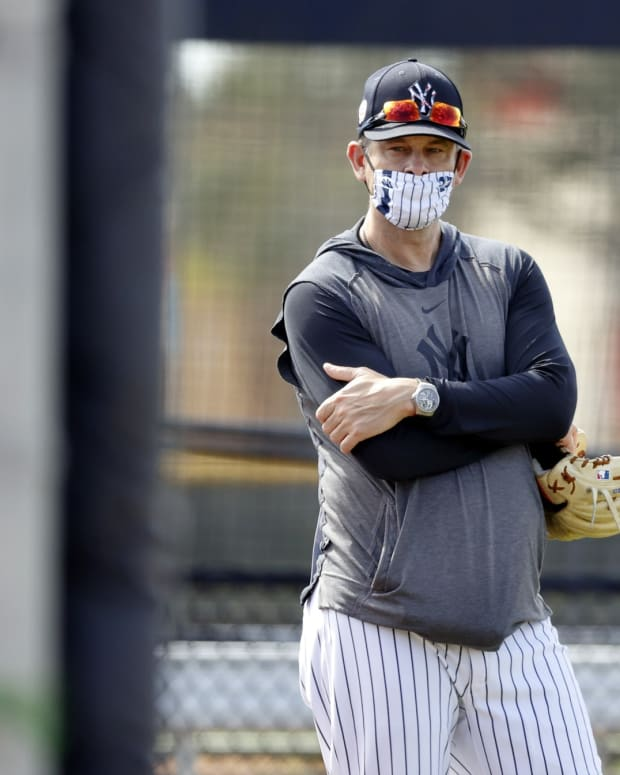 Aaron Boone spring training