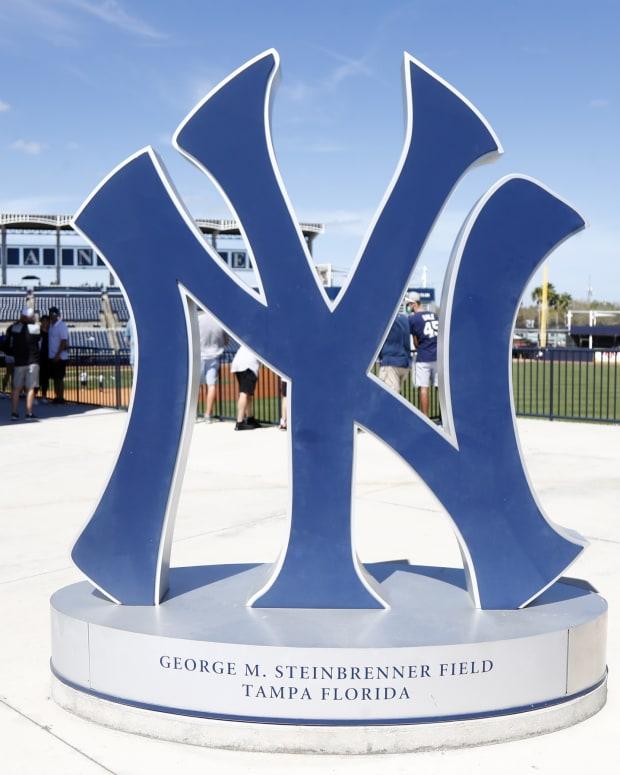 George M. Steinbrenner Field Yankees logo
